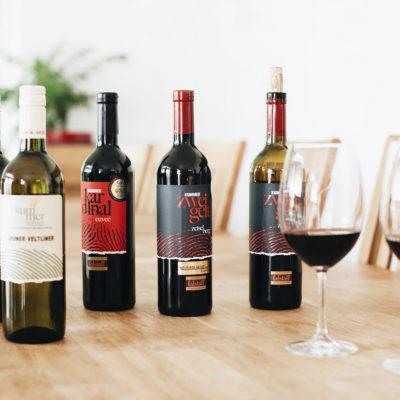 Weinflaschen Weingut Kummer